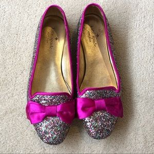 Kate Spade Audrina Multi Glitter Loafers